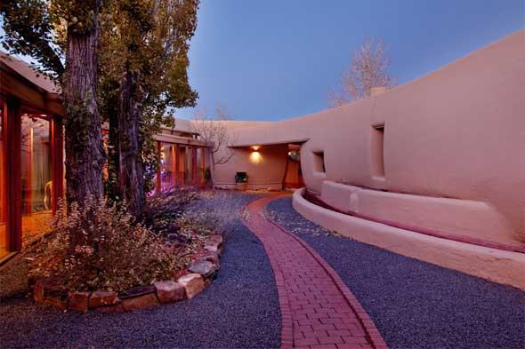 The Pottery House Based On A Design By Frank Lloyd Wright 1430 Hyde Park Rd Santa Fe 87501